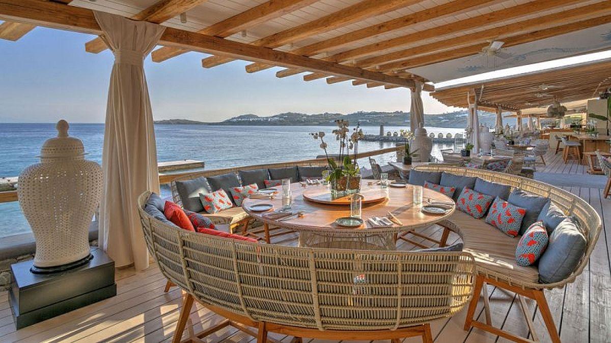 Фото экзотических кафе на берегу моря