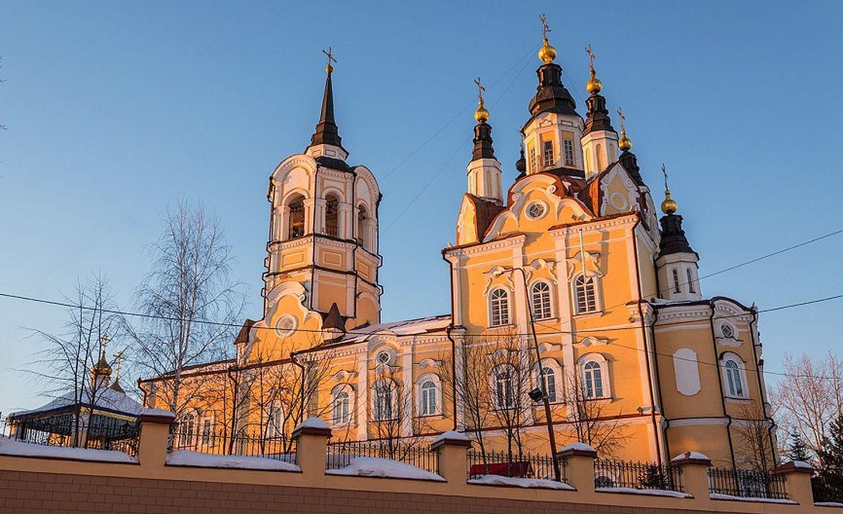 церкви в томске с картинками представляет